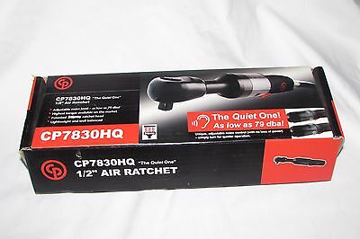 """Chicago Pneumatic CP7830HQ 1/2-Inch Air Ratchet """"The Quiet One"""" NEW NIB"""