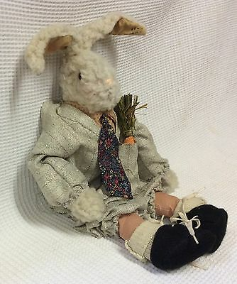 Vintage Attic Babies Business Man Rabbit doll By Marty Maschino
