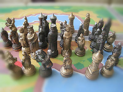 Chess Set Pieces ,complete ,no board
