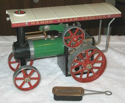 Vintage MAMOD #TE1A Live Steam Traction Engine - Made In England -