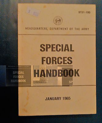 U.s. Army Special Forces Handbook January 1965