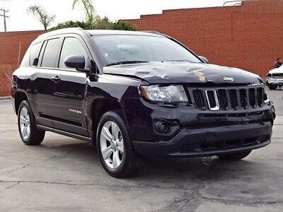 2017 Jeep Compass Latitude Sport Utility 4-Door 2017 Jeep Compass Damaged Salvage Rebuilder Only 6K Miles Priced to Sell L@@K!!