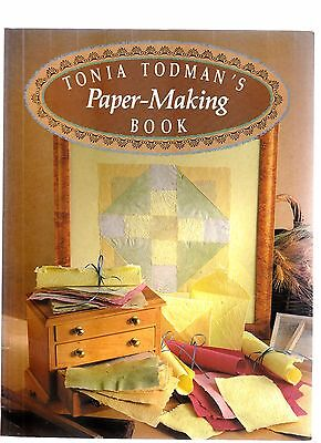 Tonia Todman Paper Making Book Soft Cover scrapbooking recycle paper