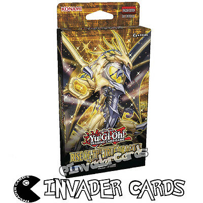 YuGiOh Rise Of The True Dragon Structure Deck SR02 1st Edition Deck New Sealed