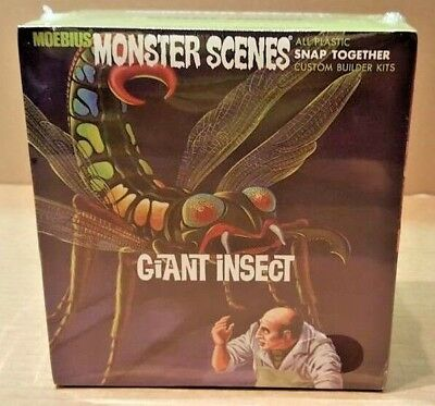 Moebius #643 Giant Insect 1/13 Scale Snap-Together Model Kit
