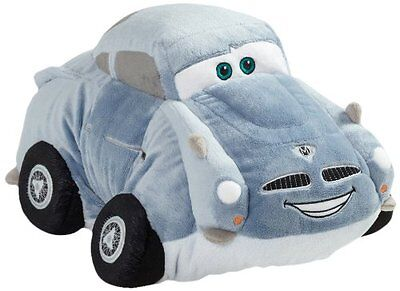 Pillow Pets Authentic Disney-Cars 18 Finn McMissle, Folding Plush Pillow- Large