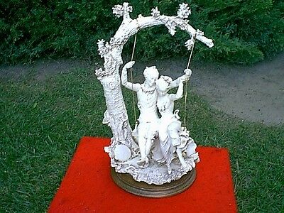 """Gorgeous Antique Victorian Statue ......17 1/2"""".....Look.....hand Signed"""