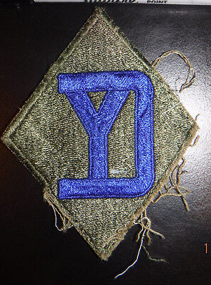 WW2 U.S. ARMY 26TH INFANTRY DIVISION Military Patch Very Old