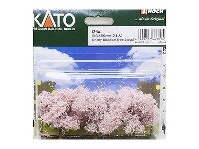 Kato Cherry Blossom Trees 3pcs (N scale Scenery Trees) (N scale) 24-082