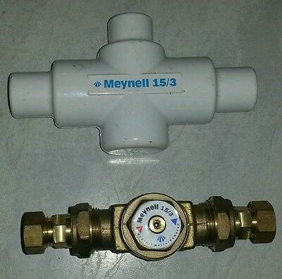 Meynell thermostatic valve - NEW