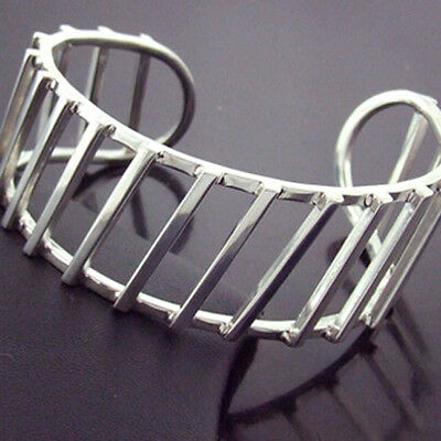 237 Genuine Authentic Hallmarked Real 925 Sterling Silver Cuff Bangle Bracelet
