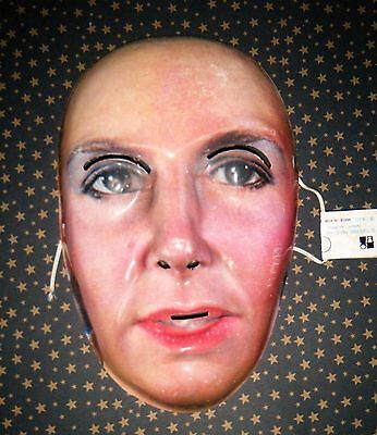 """Vintage Topstone # 1820 Woman face Mask  """" Very Rare"""""""
