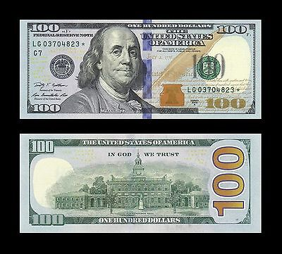 Usa New 100 Dollars 2009A * * Star Note * *  Replacement * * Scarce * *  Gem Unc