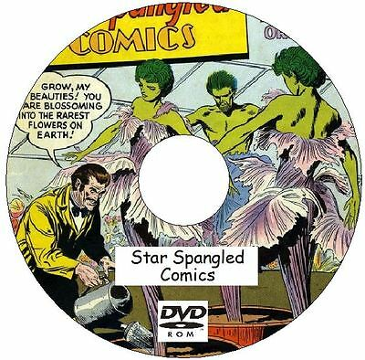 Star Spangled Comics issues 001 - 130 (1941 - 1952) on DVD Golden Age Comics