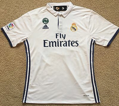 Cristiano Ronaldo #7 Real Madrid Home NEW 2016 / 2017 Jersey Top Shirt Large