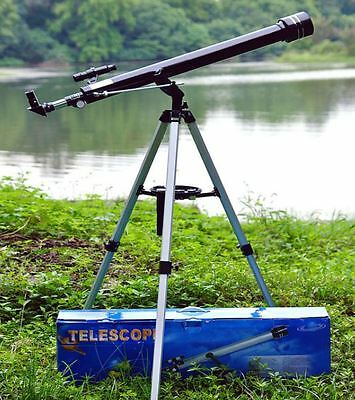Astronomical Telescope 675x Zoom Magnification Tripod Space Reflector Hobby