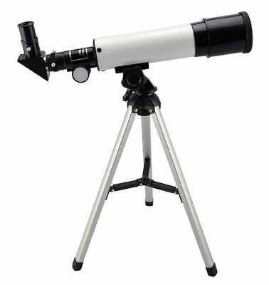 Astronomical Telescope 300x Zoom Magnification Tripod Space Reflector Hobby