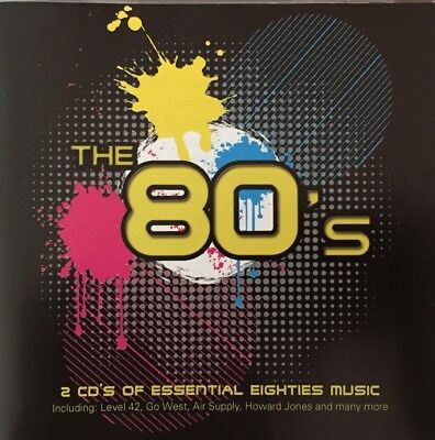 THE 80s Compilation 2 CD Set. Brand New & Sealed