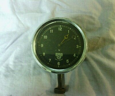 VINTAGE 1930s/1940s SMITHS CAR/COACH/LORRY WIND UP CLOCK