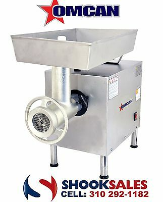 Omcan 11067 Commercial Restaurant # 22 2 HP Moderate Duty Electric Meat Grinder