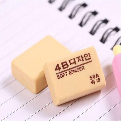 Soft Pencil Eraser Rubber Drawing Writing Lead Mistake 4B 50A 28x18x10mmB1