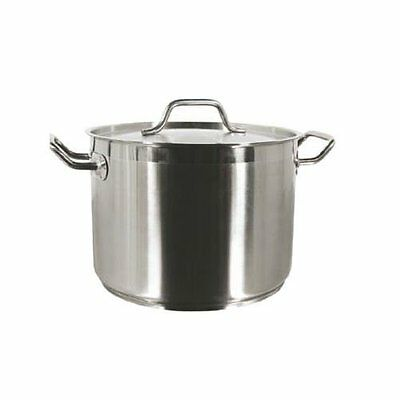 20 Qt Stock Pot W/Lid Stainless Steel Commercial Grade -NSF Certified- *Professi