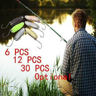 YAPADA Spoon Loong Scale Fishing Lures Spoon Sequin Paillette Baits Hook K6C2