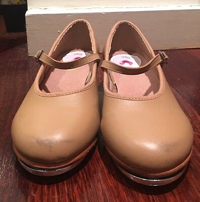 Bloch girls tap shoes - size 13.5