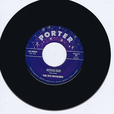 THE RIO ROCKERS - MEXICALI BABY / MEXICAN ROCK 'N' ROLL (Wild ROCKABILLY Jiver)