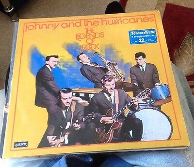 Johnny And The Hurricanes - The Legends Of Rock Rare First Pressing