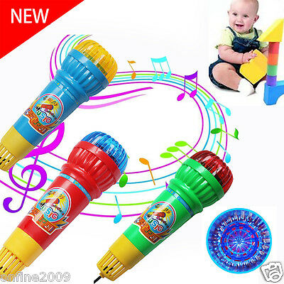 Kids Baby Echo Microphone Mic Voice Changer Music Toy Gift Present Party Song
