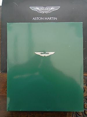 Late 1980's Aston Martin Brochure Fold-Out Folder - New