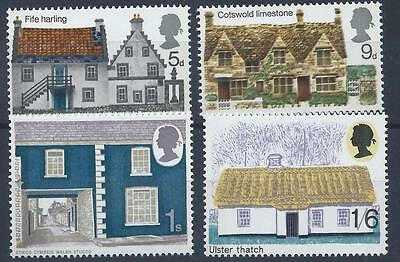 GB 1970 SG815-818 British Rural Architecture Set Mint MNH