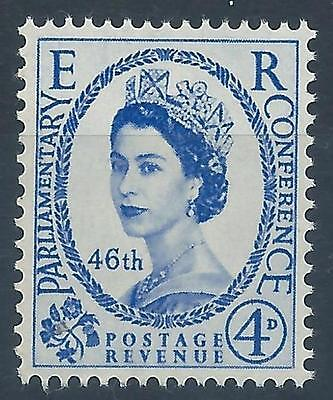 GB 1957 SG560  Inter-Parliamentary Union Conference Mint MNH B#007