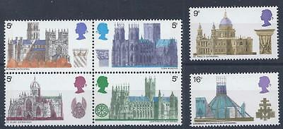 GB 1969 SG796-801 British Architecture Set Mint MNH
