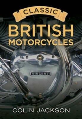 Classic British Motorcycles book paper