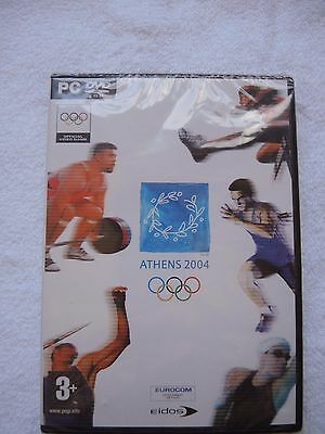 Athens 2004 PC DVD Rom BRAND NEW SEALED **FREE POSTAGE**