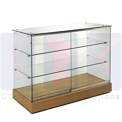 New Glass Showcase Lockable Display Counter Cabinets High Quality