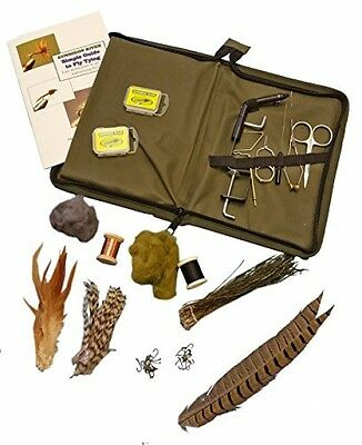 River Simple Fly Tying Kit Vise, 5 total tools and materials