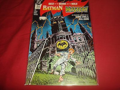 BATMAN : BEST OF THE BRAVE AND THE BOLD #5 Batman Mystery DC Comics 1988 FN/VF
