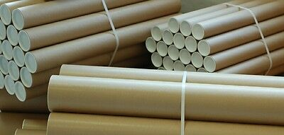Postal Tubes  ///special Offer\ 100% Extra Free  Until 1St May 2017+ Free P+P