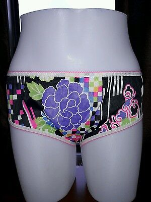 SALE NWOT Vintage PAM Mod 60's Flower Power Brief Panties Pillow Tab 5 Hipster