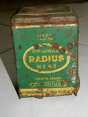 Original Radius N° 42 Rechaud Camp Stove Camping Made In Suede Sweden