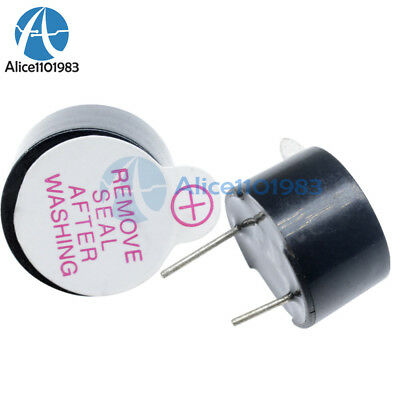 10Pcs Active Buzzer 3V 12mm Magnetic Long Continous Beep Tone Alarm Ringer