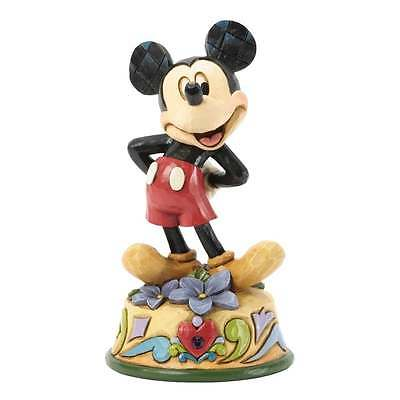 Disney Traditions February Mickey Mouse Figurine New Boxed 4033959