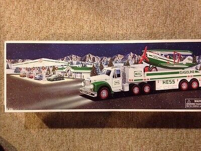 2002 Hess Toy Truck With The Airplane
