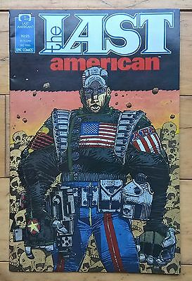 The Last American Issue 1 John Wagner Alan Grant Mike Mcmahon Epic 1990 Vf