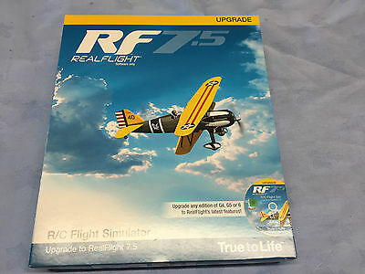 Realflight 7.5 R/c Flight Simulator Upgrade Disk