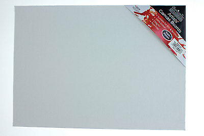 """Frisk Canvas Board 203 x 152mm (8"""" x 6"""") Pack of 4"""