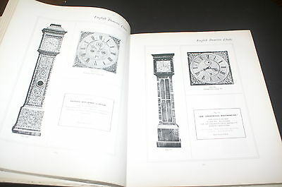 English Domestic Clocks By Herbert Cescinsky And Malcolm R Webster